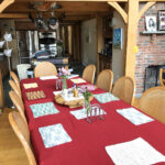 The Vermont House - Large dining table